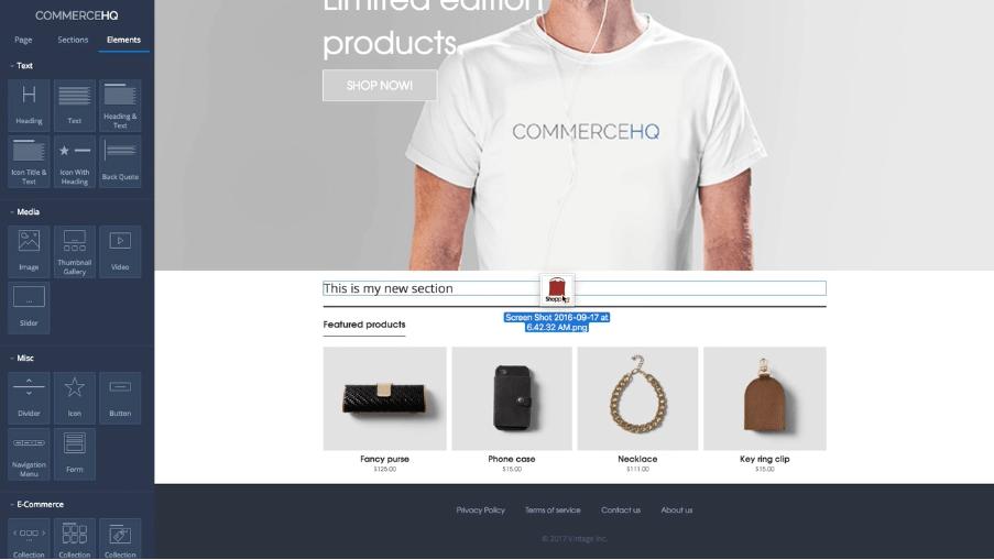 CommerceHQ vs Shopify 1