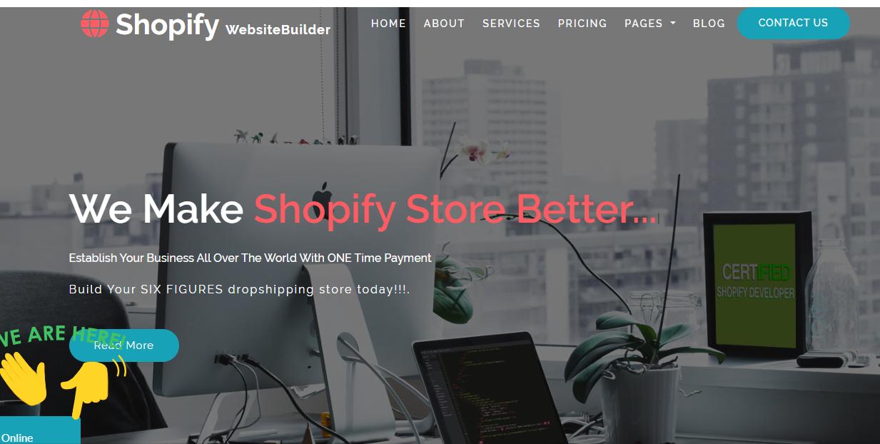 Shopify Website Builder